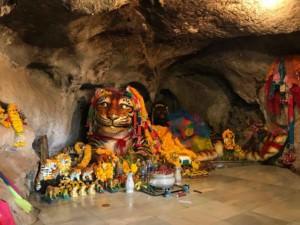 Thailand |Sehenswürdigkeiten und interessante Orte gibt es auch rund um Krabi. Hier der Tiger Cave Tempel