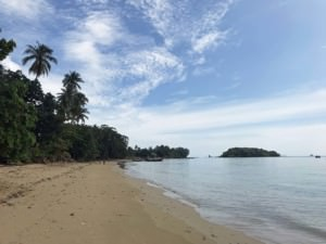 Thailand | Tubkaek bzw. Tub Kaek Beach Panorama am Strand Richtung Süden in der Nähe von Krabi
