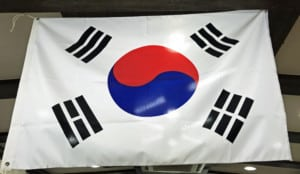 Südkorea | Flagge, Fahne