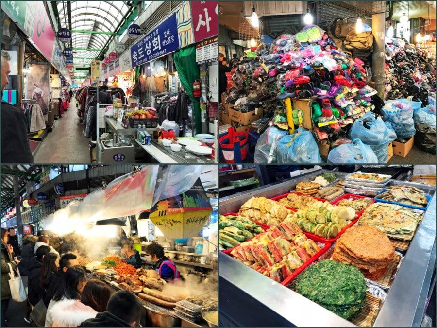 Südkorea | Seoul:Guide: Eindrücke auf dem Gwangjang Market / Markt