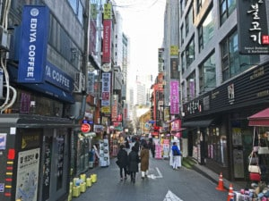 Südkorea | Seoul, Shopping-Area im Stadtteil Myeongdong