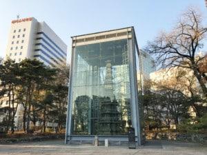 Südkorea | Seoul, Pagode im Stadtteil Insadong