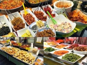 Südkorea | Seoul, Eindrücke verschiedener Speisen auf dem Tongin Markt