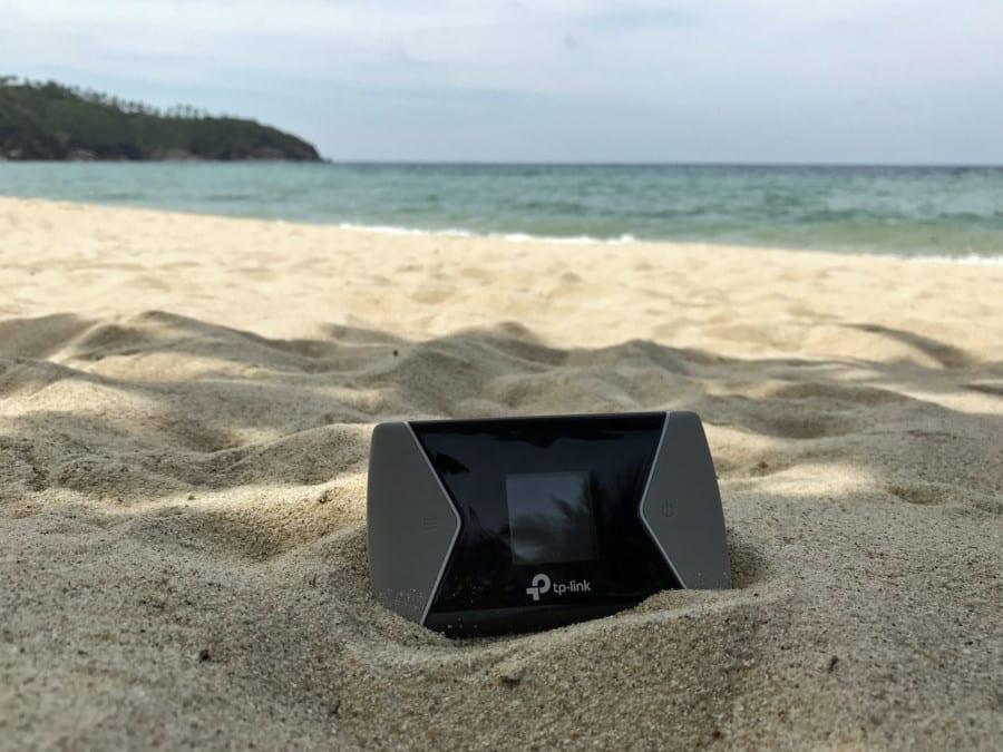 Test TP-Link M7650 | Der Wifi-Router am Strand von Koh Samui