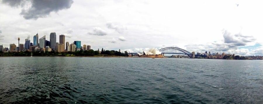 Der perfekte Ort Sydney Skyline