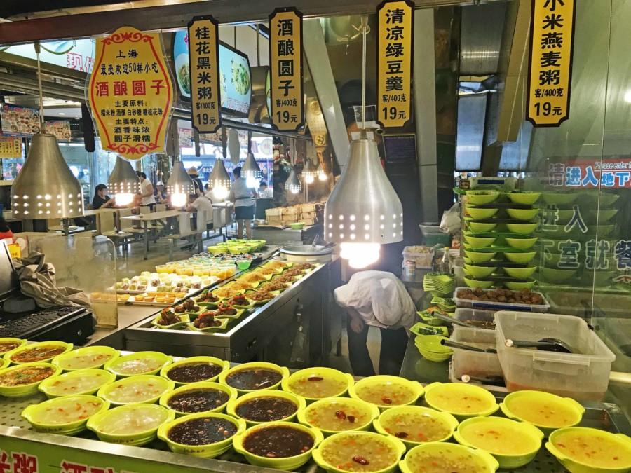 Congee oder Porridge wird in China gerne zum Frühstück gegessen