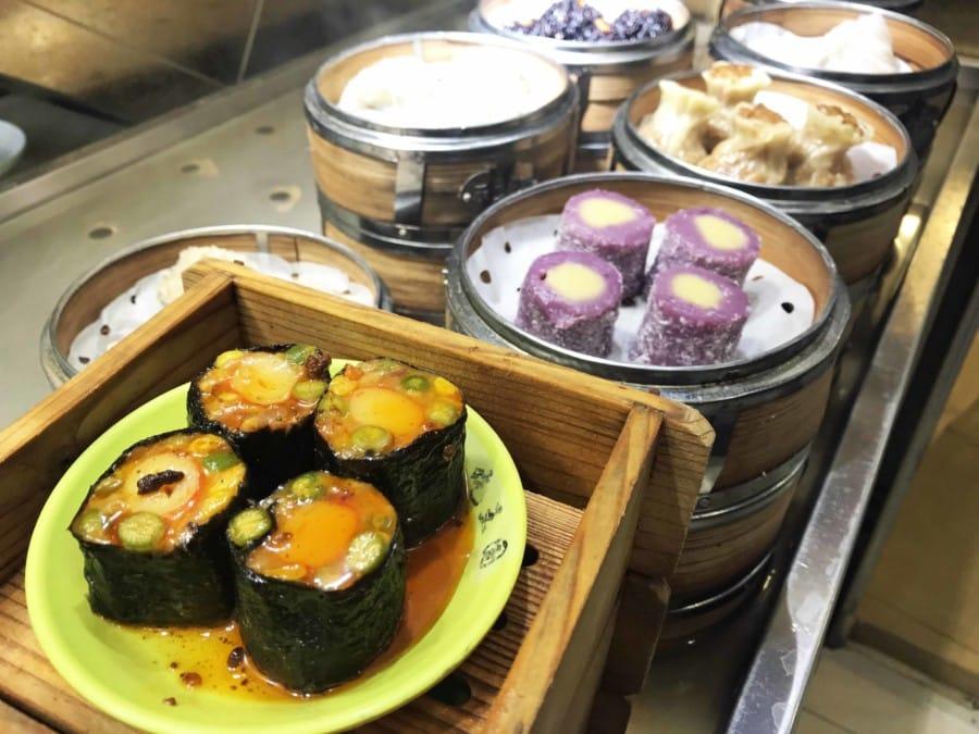 Typisches Gericht: Dumplings oder Dim Sum