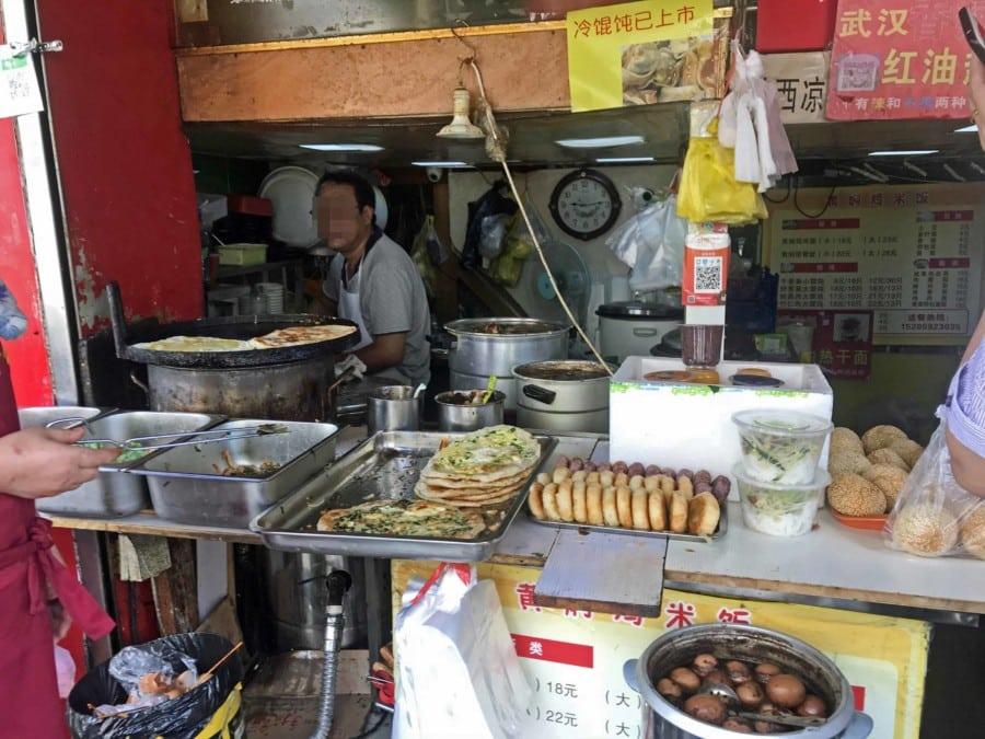 Street Food: Typisches chinesisches Frühstück
