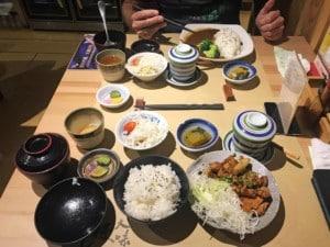 Japanisch essen kannst Du im Viertel French Concession in Shanghai sehr gut