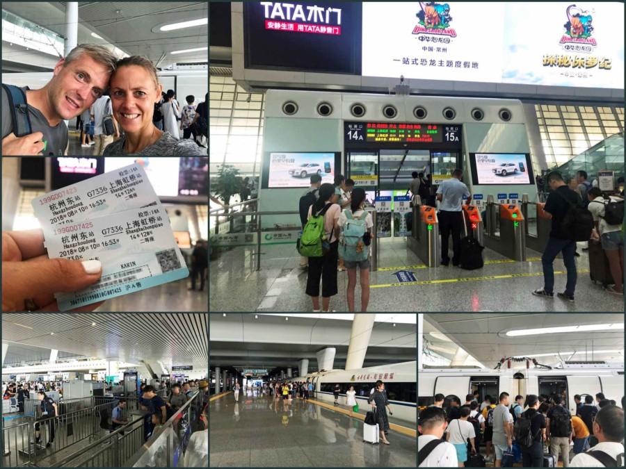Sehenswürdigkeiten, interessante Orte & Tipps: Mit dem Zug von Hangzhou nach Shanghai