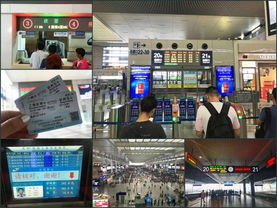 Sehenswürdigkeiten, interessante Orte & Tipps: Mit dem Zug von Shanghai nach Hangzhou