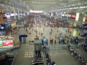 Hangzhou East Railway Station, der Bahnhof zur Ankunft oder Rückfahrt nach Shanghai