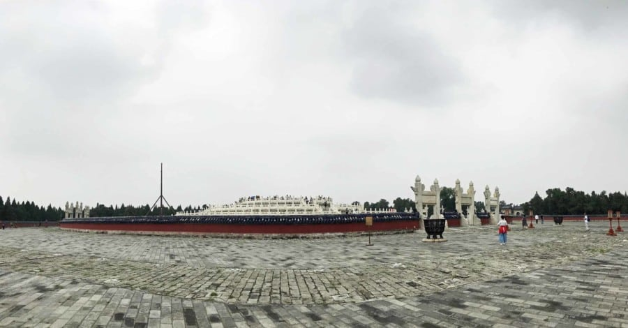 Sehenswürdigkeiten Peking,Tipps & Guide: Himmelstempel Mittelpunkt Panorama