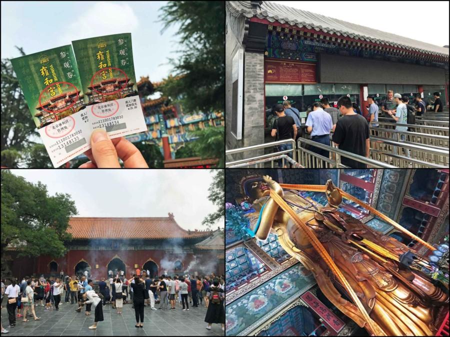 Sehenswürdigkeiten Hauptstadt Peking,Tipps & Guide: Eindrücke des Lama Tempel, Yonghegong