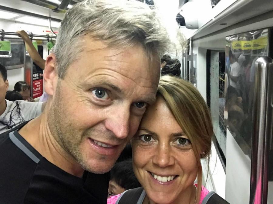 Unsere Erfahrung beim Metro fahren in Peking ist sehr gut