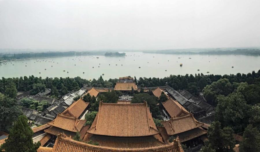 Neuer Sommerpalast Panorama