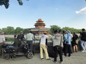 Sehenswürdigkeiten Hauptstadt Peking,Tipps & Guide: Zum Sonnenuntergang ist die Spiegelung der Mauer der Verbotenen Stadt sehr beliebt