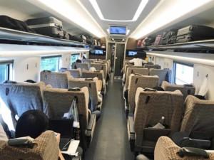 Fortbewegung: Zug fahren in China und Peking in der 2. Klasse