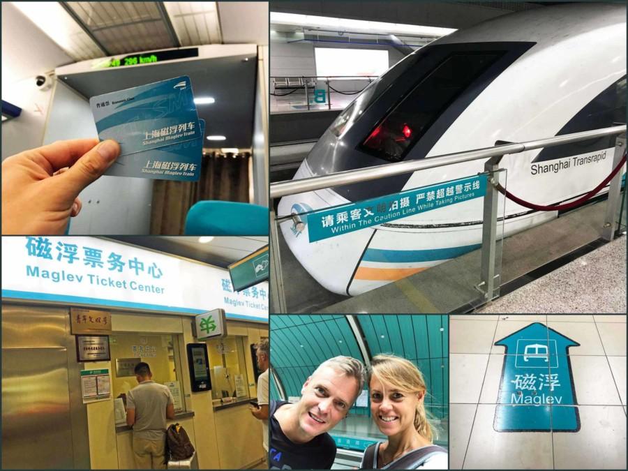 Shanghai Anreise Flughafen & Fortbewegung: Mit dem Transrapid Shanghai Maglev Train (SMT) in die Stadt
