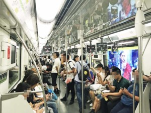 Fortbewegung in Shanghai: Metro fahren in Shanghai