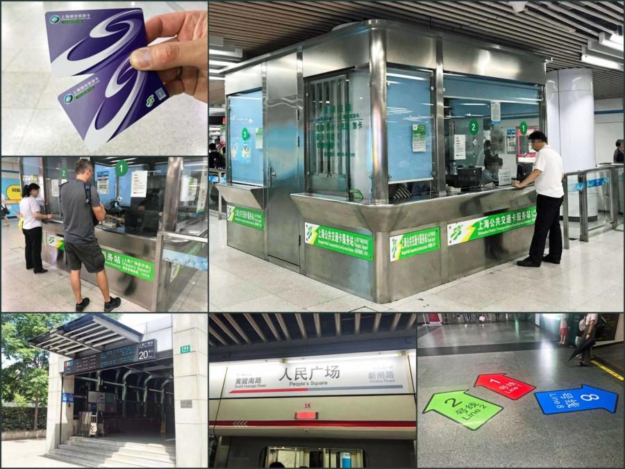 Fortbewegung in Shanghai: Hier kannst Du Deine Shanghai Public Transportation Card kaufen