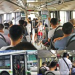 Fortbewegung in Shanghai: Stadtbusse sind ein wichtiges Fortbewegungsmittel
