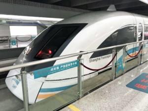 Anreise Shanghai & Fortbewegung: Transrapid Shanghai Maglev Train (SMT)