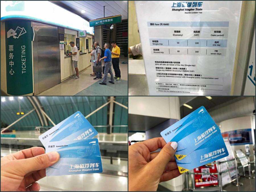 Fortbewegung vom Flughafen: Tickets & Preise für den Transrapid Shanghai Maglev Train (SMT)