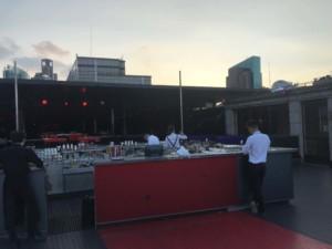 Shanghai Aussicht: Terrasse der Bar Rouge