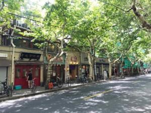 Einer unserer Tipps: Stadtteil French Concession mit kleinen Restaurants und Cafés in Shanghai