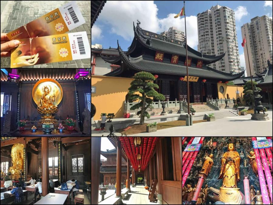 Guide, Sehenswürdigkeiten & interessante Orte in Shanghai: Jade Buddha Tempel Eindrücke