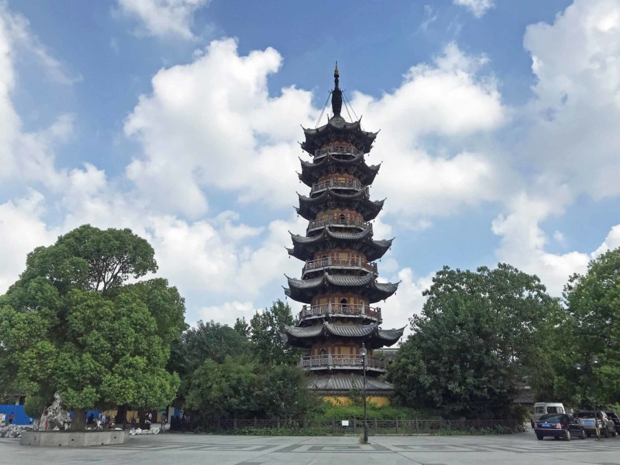 Sehenswürdigkeiten & interessante Orte in Shanghai: Longhua Pagode