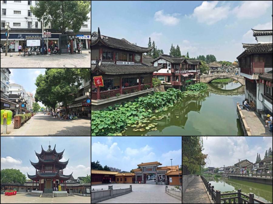 Eindrücke der Wasserstadt Qibao