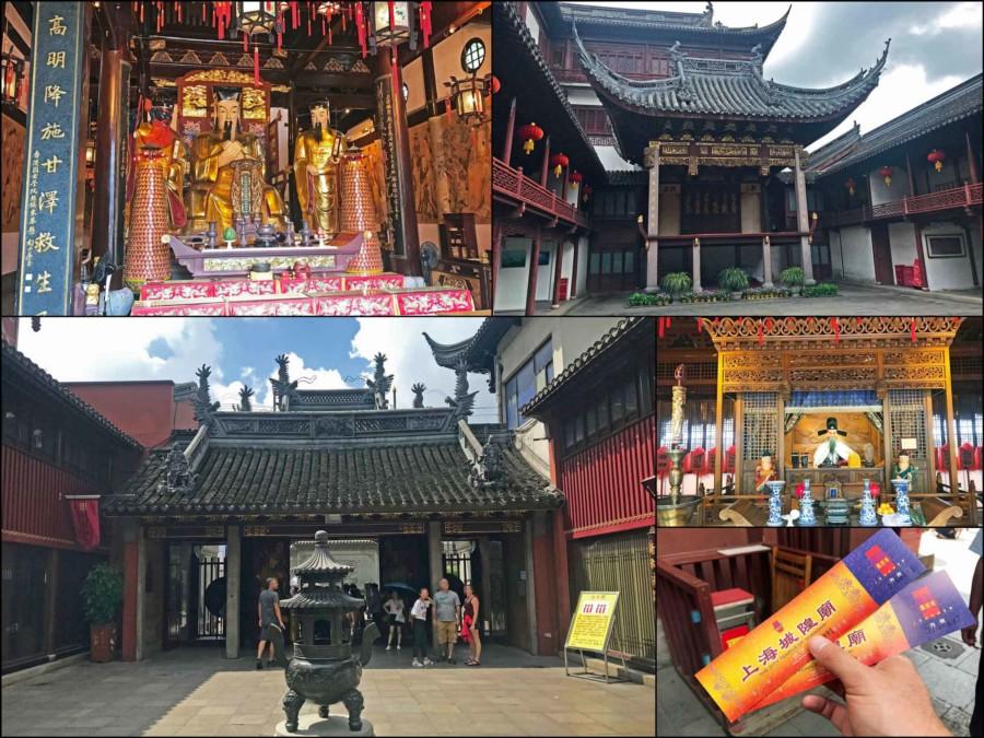 Guide, Sehenswürdigkeiten & interessante Orte in Shanghai: Eindrücke des Old City God Tempel im Yuyuan Garten