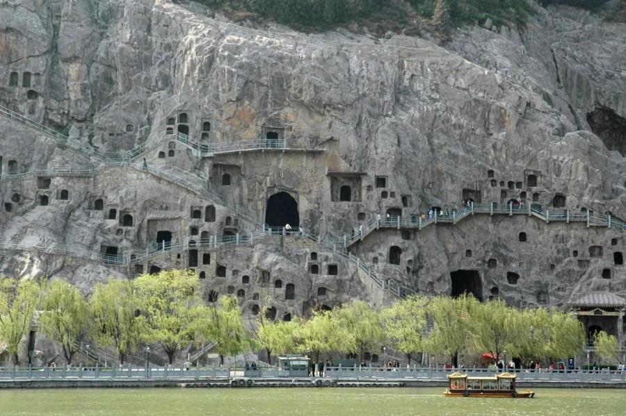 China Top-Reiseziele: Die Longmen Grotten bei Luoyang zählen zum UNESCO-Weltkulturerbe