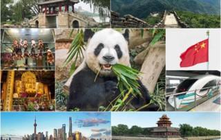 China Top Reiseziele Sehenswürdigkeiten interessante Orte Eindrücke