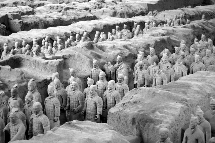 China Top-Reiseziele: Die berühmte Terracotta Armee von Xi'an