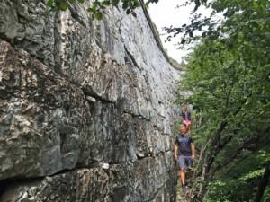 Entlang der Chinesischen Mauer in Jiankou