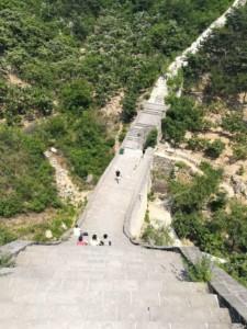 Stufen der Großen Mauer bei Huanghuacheng