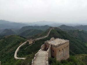 Große Mauer Peking Abschnitte Chinesische Mauer Länge: Wanderung auf der Chinesischen Mauer bei Peking: Abschnitt Huanghuacheng