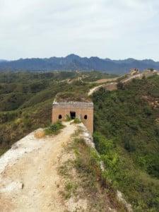 Peking Chinesische Mauer Abschnitte, Gerat Wall: Abschnitt Zhuangdaokou bei Huanghuacheng