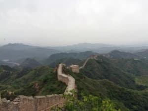 Große Mauer Peking Abschnitte Chinesische Mauer Länge: Lange Wege gilt es zu überwinden, hier bei Huanghuacheng