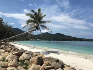 Strand Ao Chaloklum im Norden der Insel