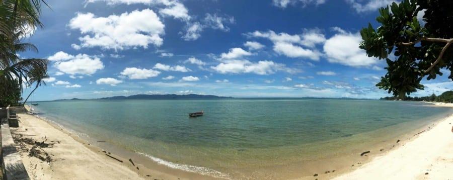 Haad Bantai Beach, Strand auf Koh Phangan