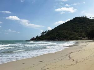 Haad Khuat, Bottle Beach, Blick von der Mitte des Strandes nach rechts