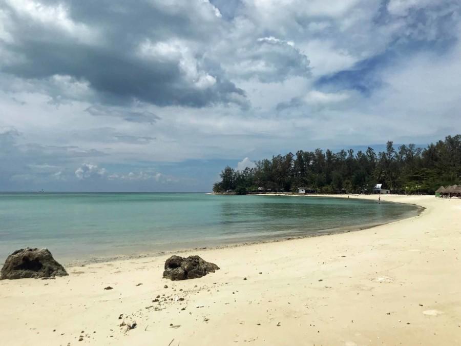 Kleine Bucht Ao Srithanu Beach Strand