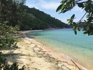 Haad Thonglang, Thong Lang Beach, ein versteckter Strand im Norden von Koh Phangan