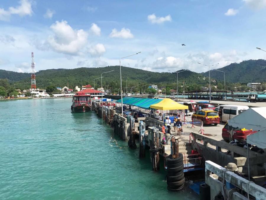 Nathon Pier auf Koh Samui