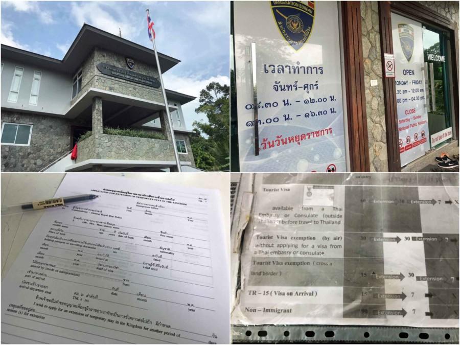 Anleitung Thailand Visum Verlängern auf Koh Samui