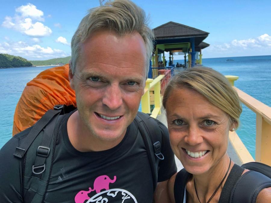 Perhentian Island Besar Pier Karin Henning Selfie